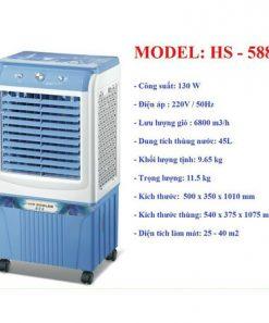 Quạt điều hòa HS-588A giá rẻ